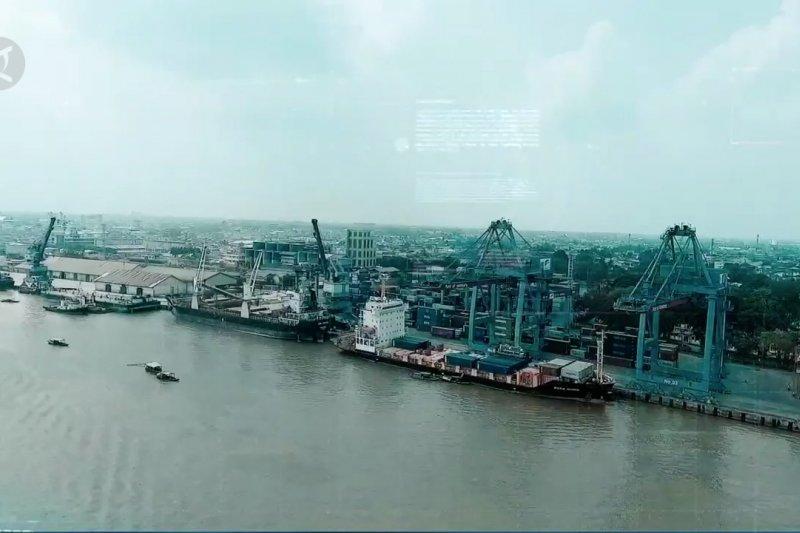Bongkar muat di Pelabuhan Boom Baru Palembang meningkat 30%