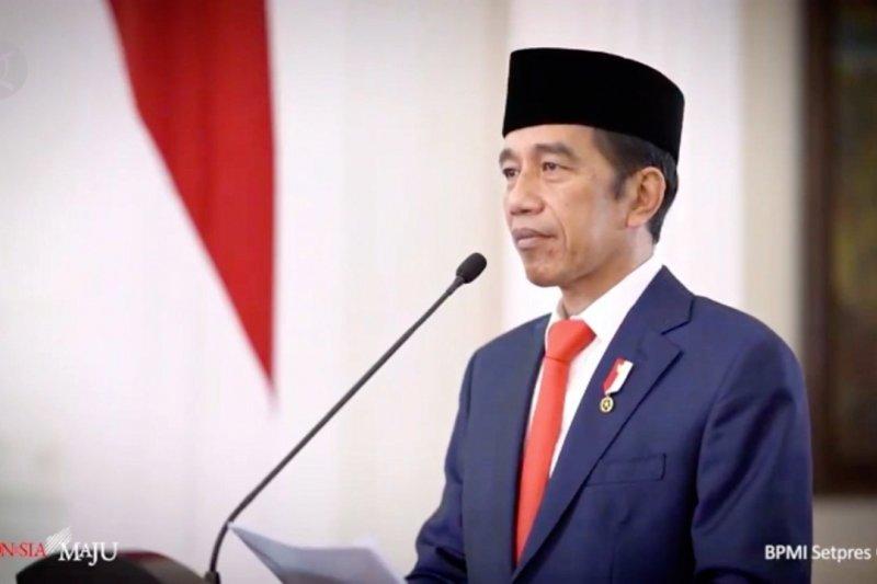 Jokowi ungkap keseriusan pemerintahbangun Bank Syariah raksasa
