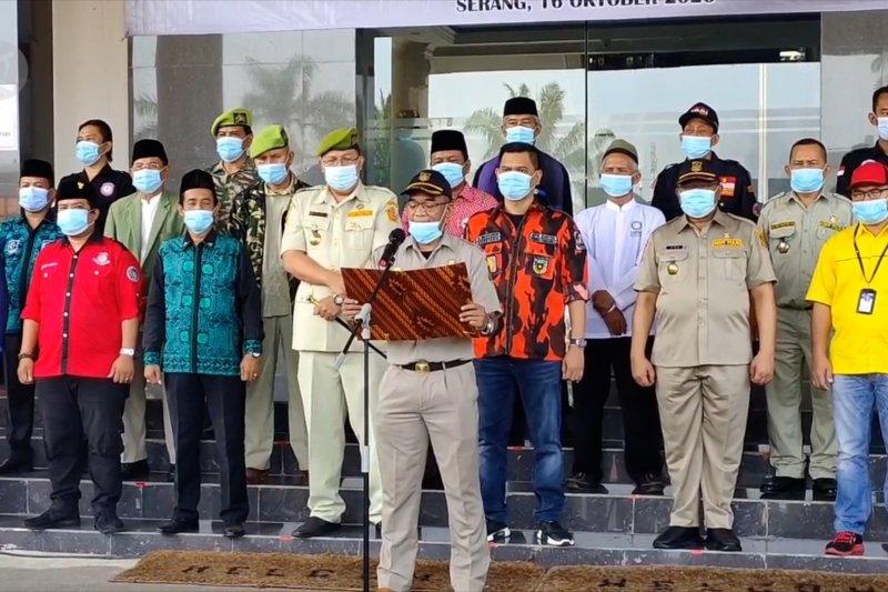 Polda Banten ajak ormas tolak anarkisme