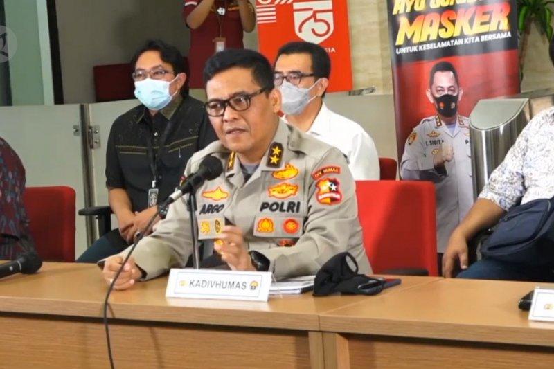Polri tetapkan 8 orang tersangka dalam kebakaran Kejagung