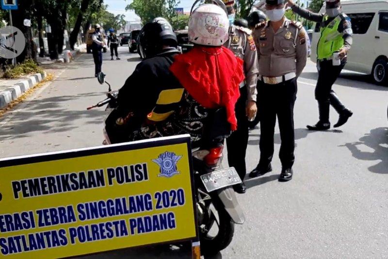 Polresta Padang mulai gelar Operasi Zebra Singgalang 2020