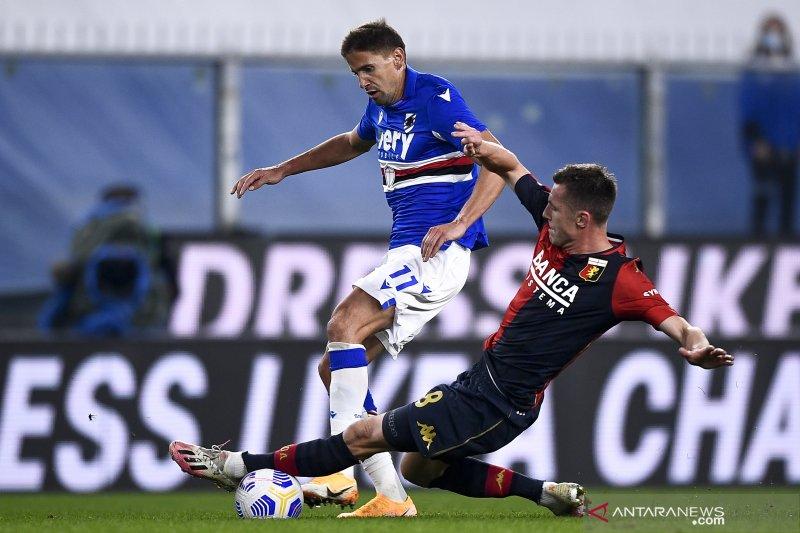 Derby della lanterna berakhir sama kuat 1-1
