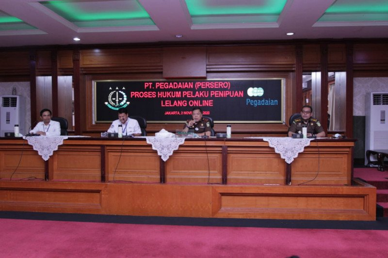 Penipuan lelang daring catut Pegadaian dilimpahkan ke PN Jakpus