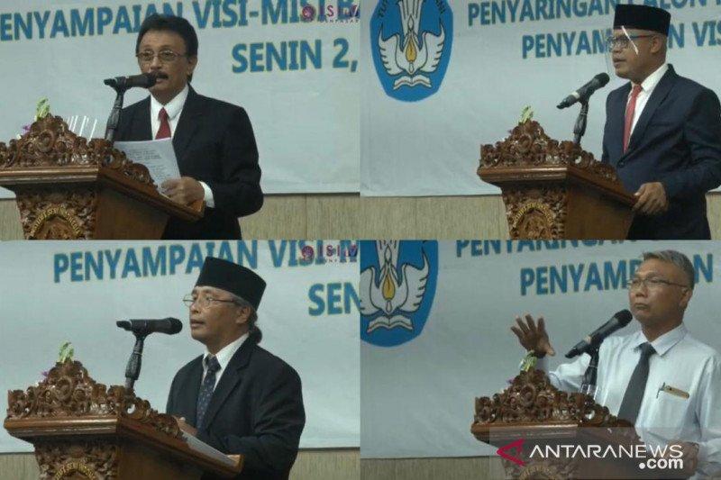 Empat kandidat Rektor ISI Denpasar paparkan visi misi