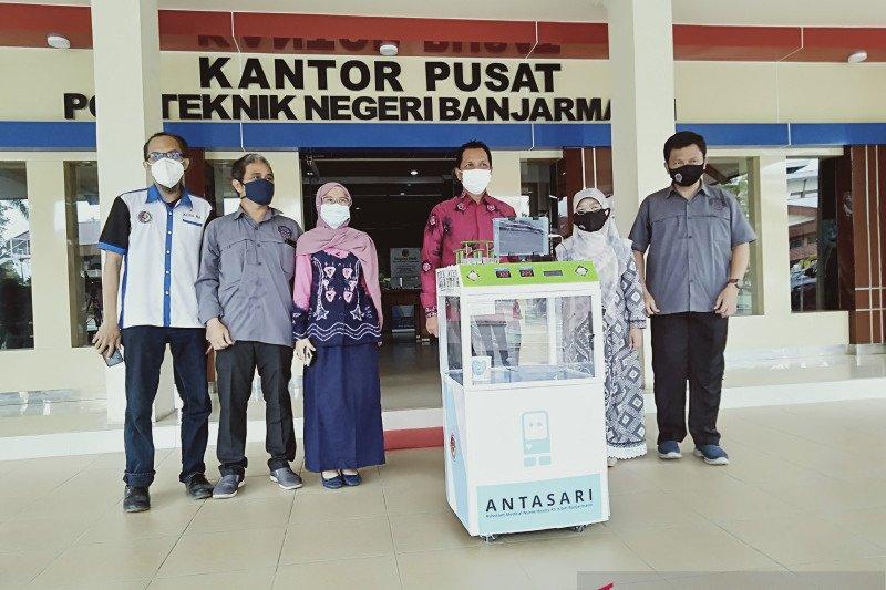 Politeknik Banjarmasin buat robot pendukung pelayanan pasien COVID-19