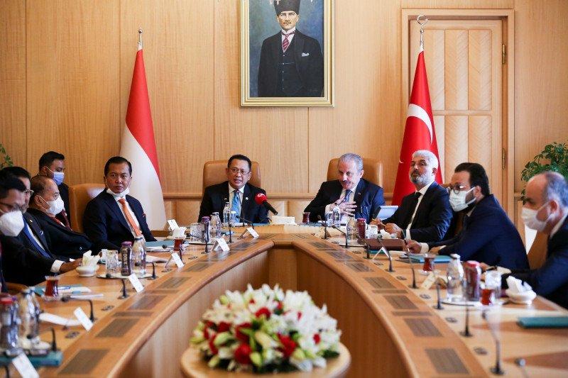Demi pemulihan ekonomi, Ketua MPR RI minta dukungan parlemen Turki