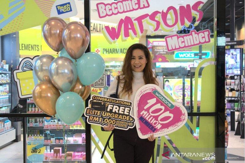 Watsons cetak 100 juta anggota loyal di Asia