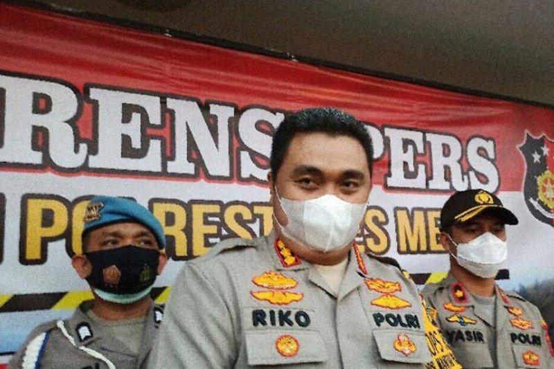 Polrestabes Medan buru lima tersangka penembakan anggota Polri
