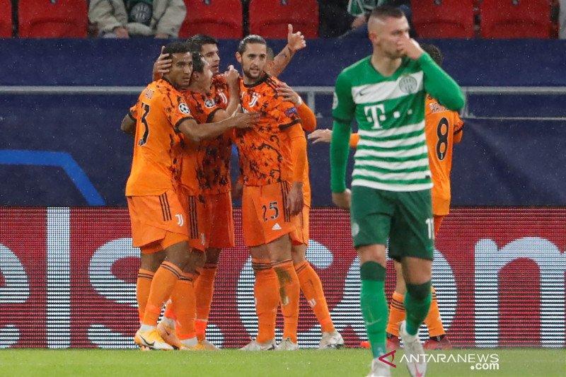 Juventus atasi perlawanan Ferencvaros 4-1