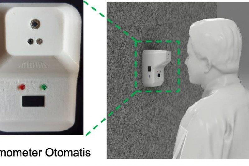 Dosen UI kembangkan termometer otomatis untuk screening COVID-19