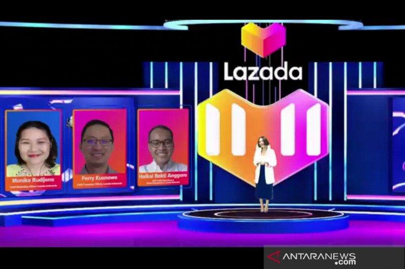 Lazada siapkan ekosistem penunjang festival belanja 11-11