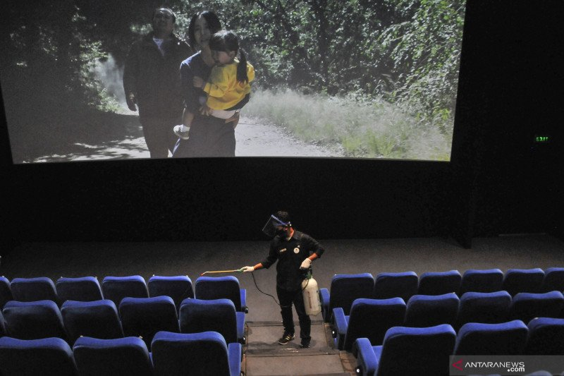 Bioskop dibuka bertahap bangun kembali optimisme industri film