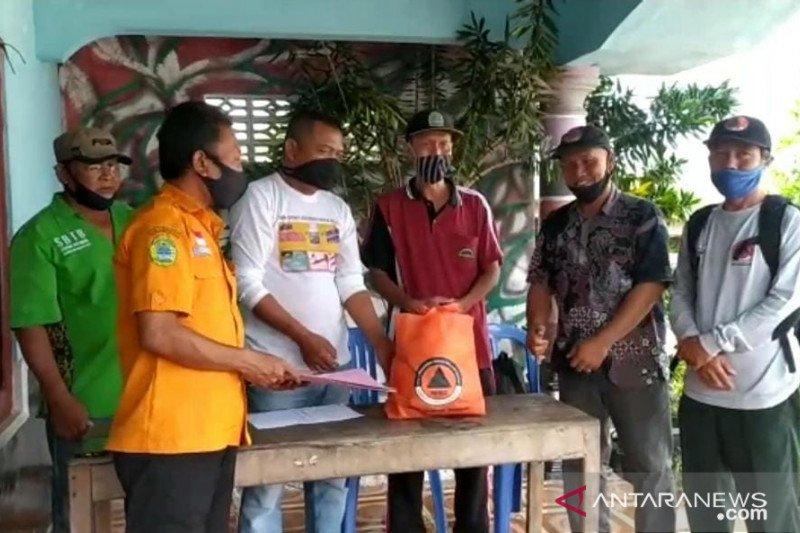 BPBD Gunung Kidul distribusikan logistik kepada korban angin kencang