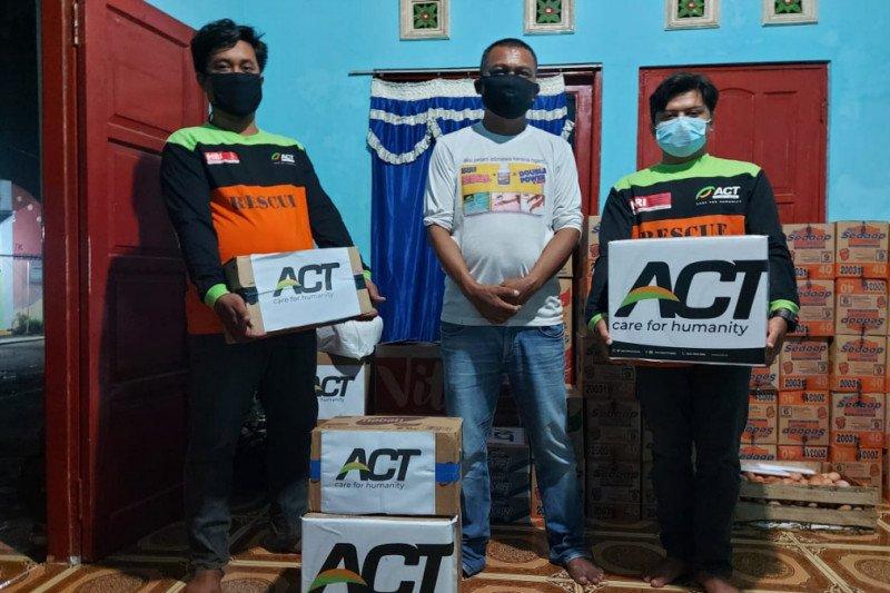 ACT salurkan bantuan warga terdampak angin kencang di Gunung Kidul