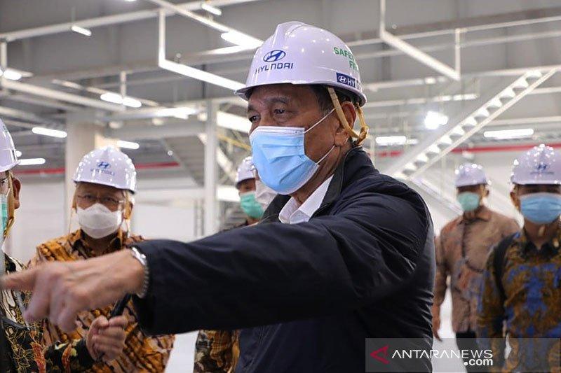 Luhut: Indonesia harap jadi pasar utama kendaraan listrik di ASEAN