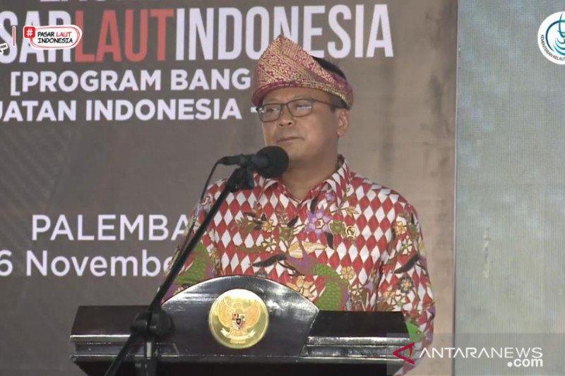 Edhy Prabowo resmikan Pasar Ikan Modern Palembang