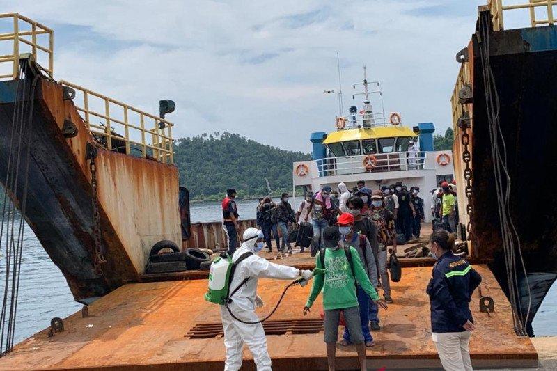 155 ABK dan dua jenazah yang terjebak di luar negeri tiba di Tanah Air