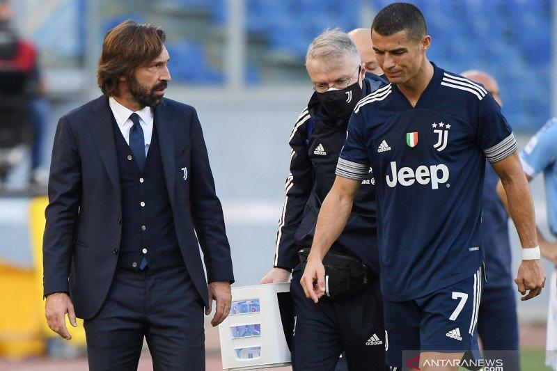 Andrea Pirlo konfirmasi cedera pergelangan kaki Cristiano Ronaldo