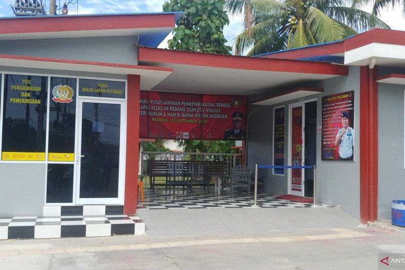 Lapas Padang kembali buka pelayanan usai ditutup karena COVID-19