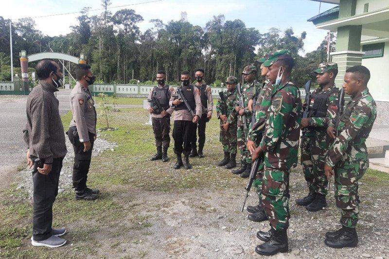 TNI-Polri tingkatkan patroli jelang Pilkada Yahukimo 2020