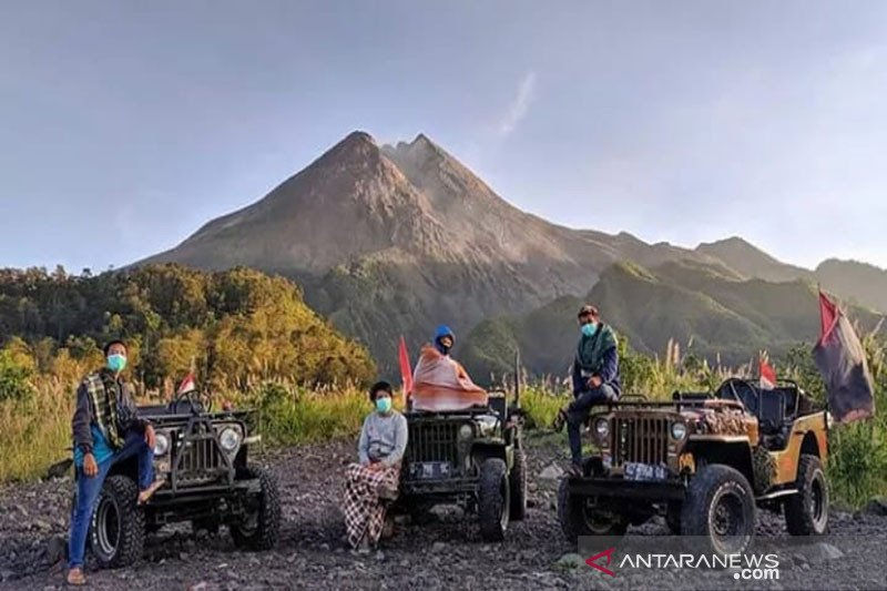 Balai TNGM tutup sementara objek wisata alam lereng Merapi