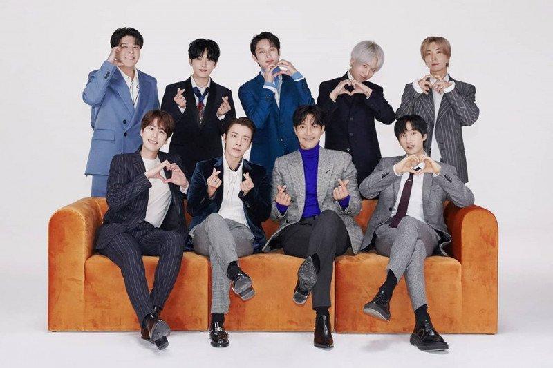 Super Junior kenang perjalanan karier 15 tahun terakhir