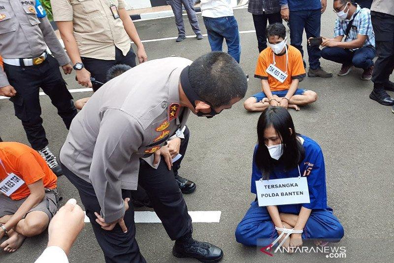 Polda Banten ungkap 108 kasus narkoba selama Januari-Oktober 2020