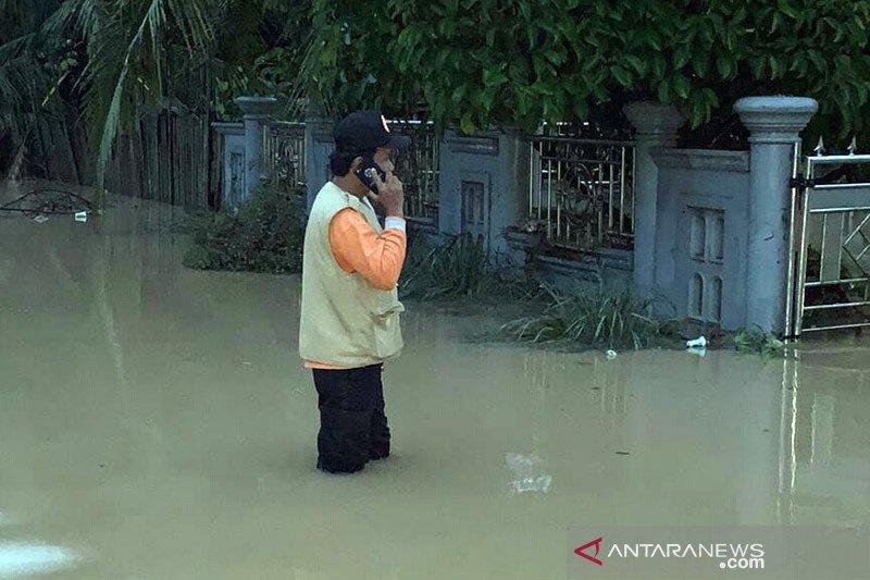 Dua sungai meluap, 126 rumah di Solok Selatan direndam banjir