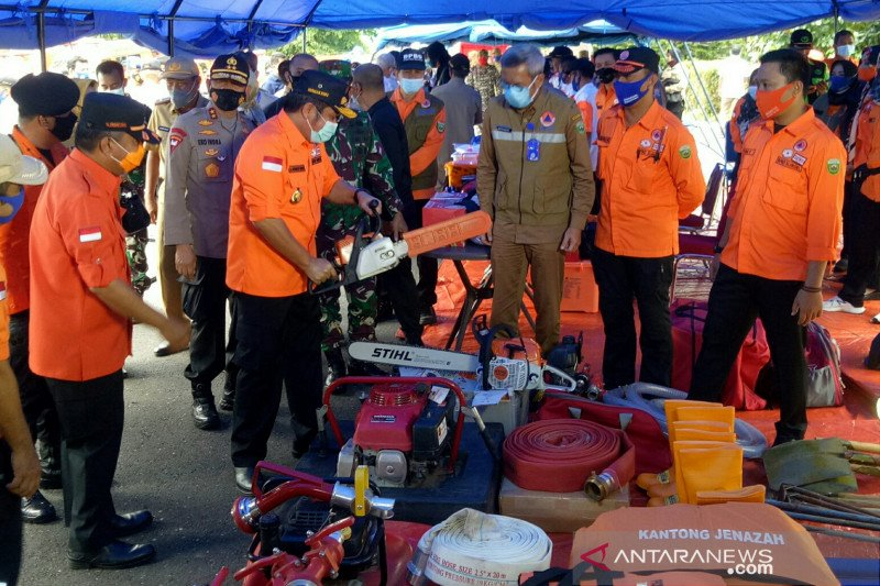 Sumatera Selatan siaga hadapi potensi bencana alam selama musim hujan