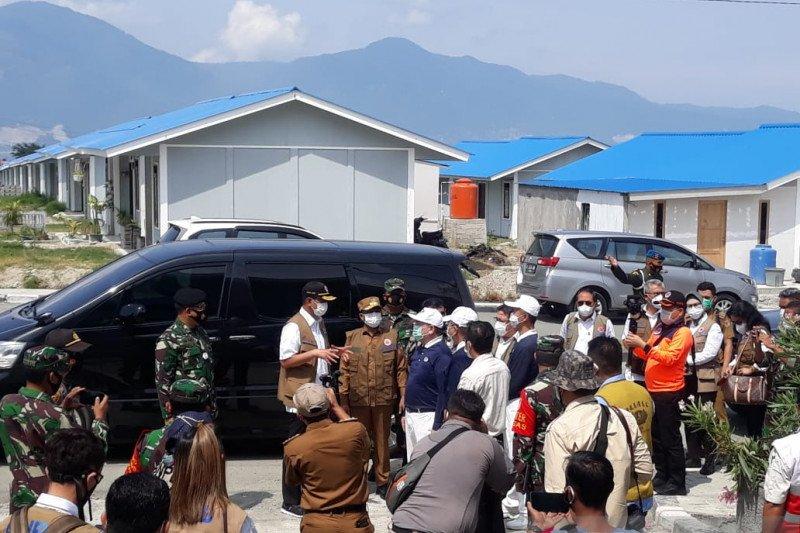 Kerja keras pemerintah sediakan huntap bagi penyintas gempa