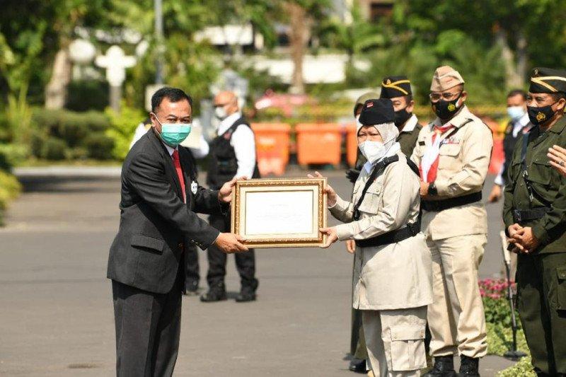 Hari Pahlawan Walikota Surabaya beri penghargaan kepada BIN