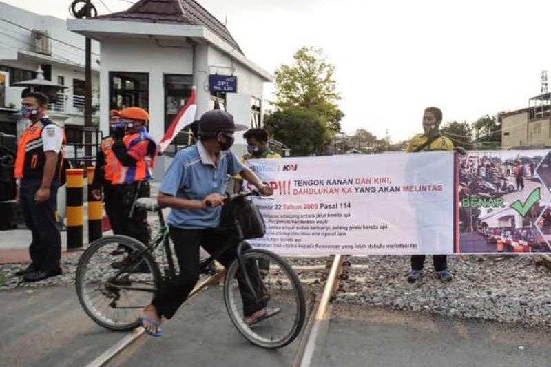 Daop Madiun catat 38 kasus kecelakaan di jalur KA