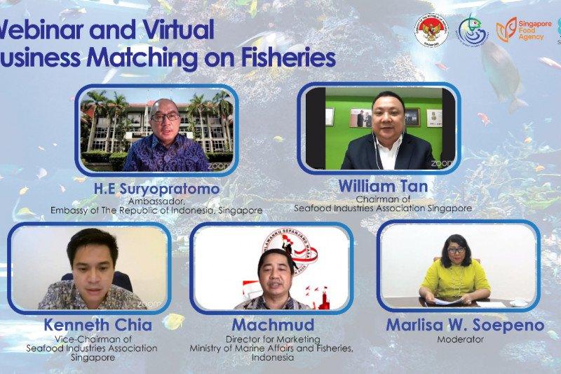 Eksportir Indonesia tawarkan komoditas laut ke Singapura