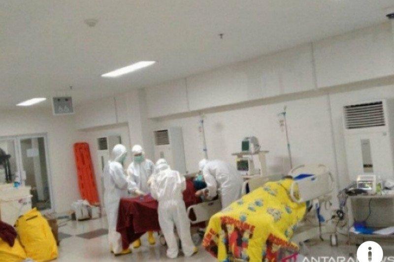 Persentase keterpakaian tempat tidur isolasi dan ICU di DKI meningkat
