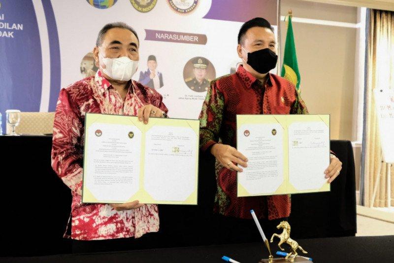 LPSK-Komisi Kejaksaan sepakat wujudkan keadilan yang restoratif