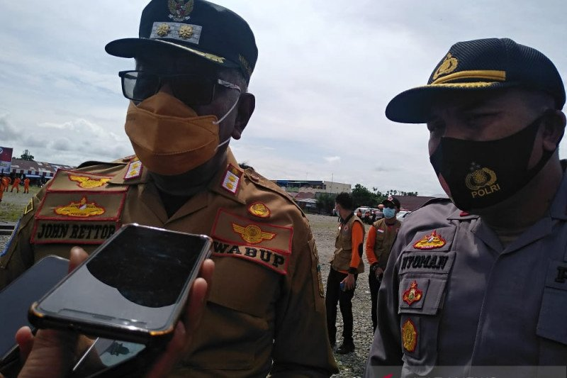 Pemkab Mimika koordinasi TNI-Polri kembalikan warga Banti