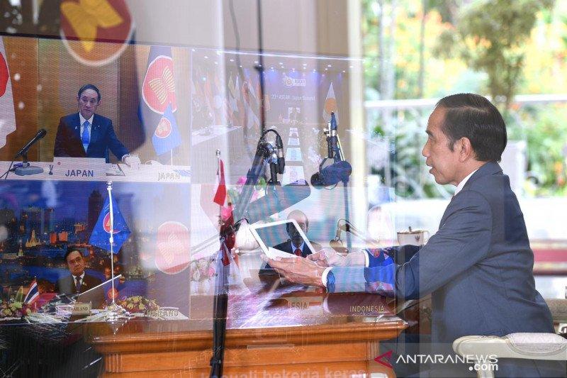 Presiden Jokowi: Kolaborasi ASEAN-Korsel tanggulangi pandemi