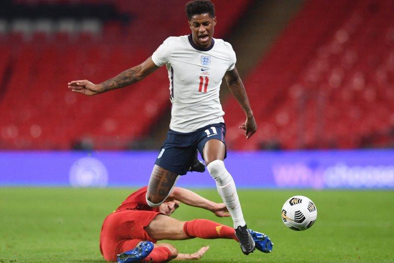 Marcus Rashford mundur dari skuat timnas Inggris karena cedera