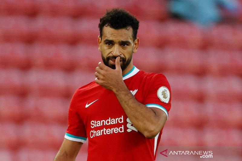 Jalani swab test bareng timnas Mesir, Mohamed Salah dinyatakan positif COVID-19