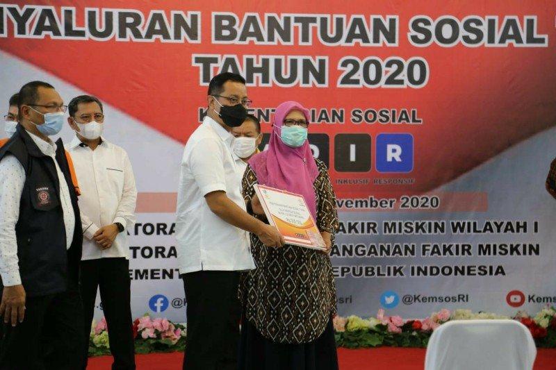 Anggaran bantuan sosial 2021 ditambah Rp30,5 trilliun tekan kemiskinan