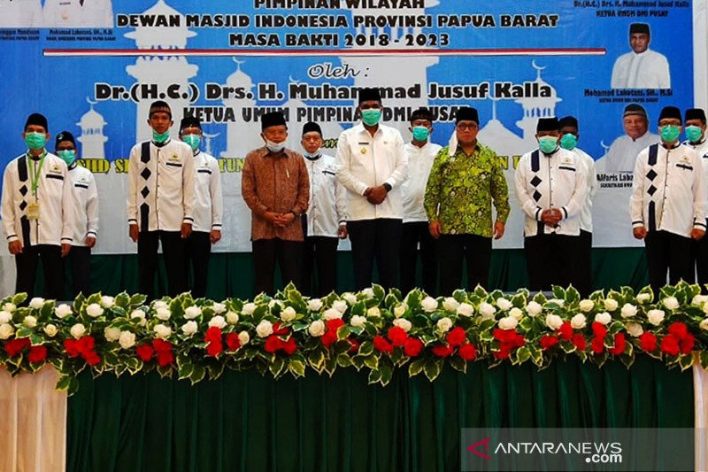 JK ajak muslim Papua Barat makmurkan masjid