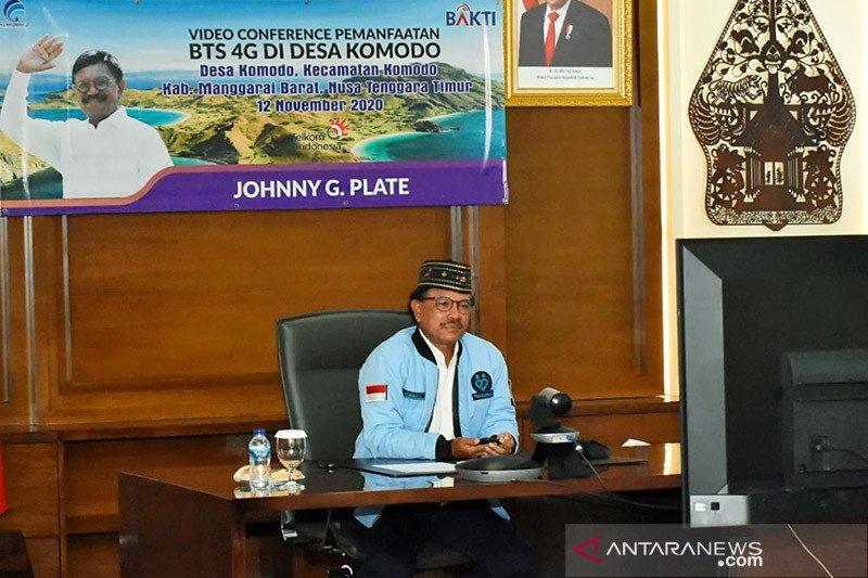 Kominfo resmikan 18 BTS di Labuan Bajo
