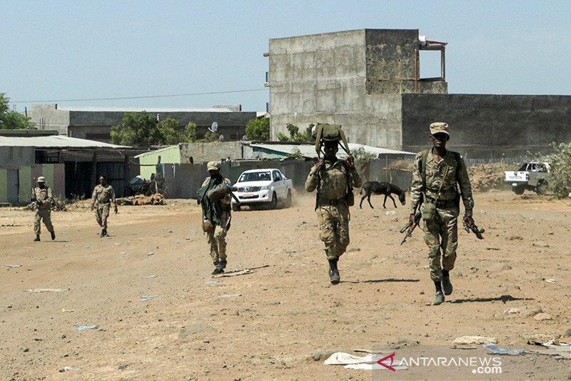 Tentara Ethiopia bunuh 15 pemberontak Tigray, tangkap delapan lainnya