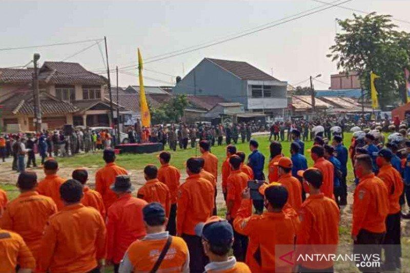 Kabupaten Bekasi canangkan kegiatan gotong royong bebas banjir