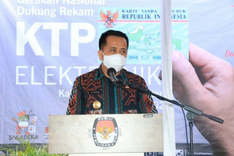 Gubernur: Rekam e-KTP pastikan perlindungan hak pilih masyarakat