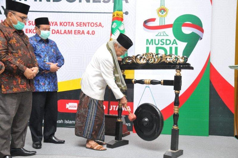 Kemenag tekankan moderasi beragama di Musda IX LDII Surabaya