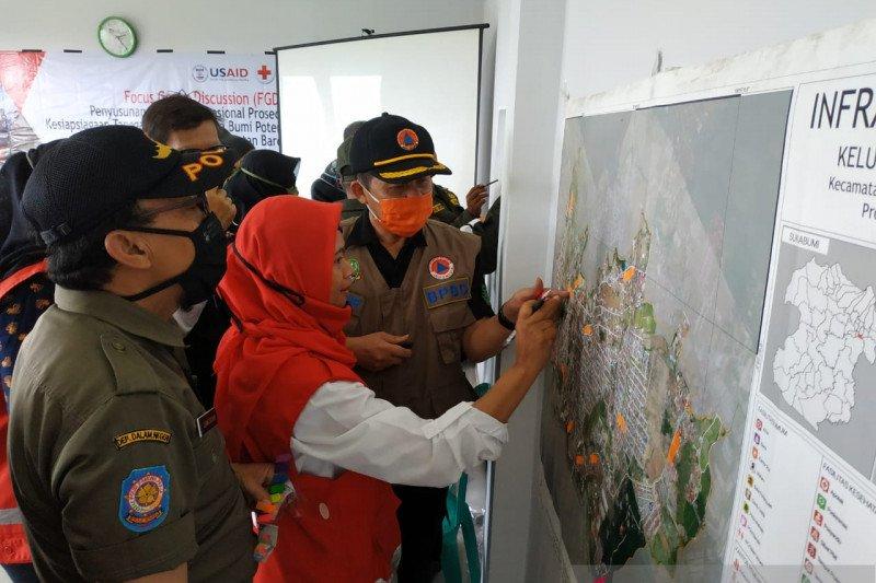 PMI inisiasi susun SOP kesiapsiagaan dan tanggap darurat gempa bumi