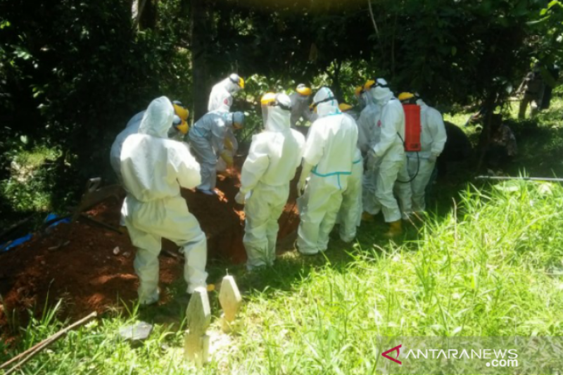 Pasien COVID-19 meninggal di Sultra bertambah menjadi 94 orang