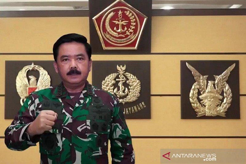 Panglima TNI kembali mutasi 129 perwira tinggi