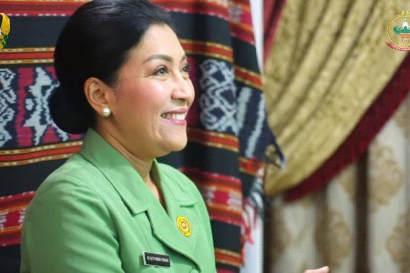 "Ketum Persit KCK ikuti webinar peresmian ""marketplace"" Ladara"